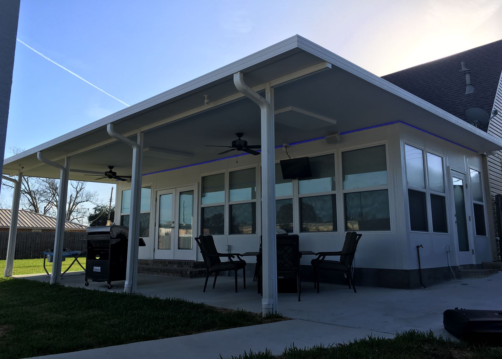 New Orleans Patio Covers Patios Cover Install Insulated Screened