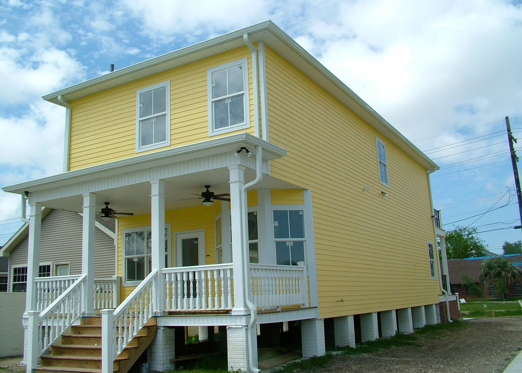 Exterior home improvement contractors in new orleans louisiana siding patios gutters windows - Exterior home repairs ...