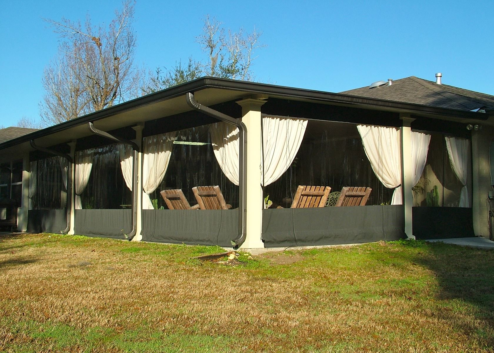 Aluminum Patio Cover Contractors In New Orleans Louisiana Carport Sunroom Glass Enclosures