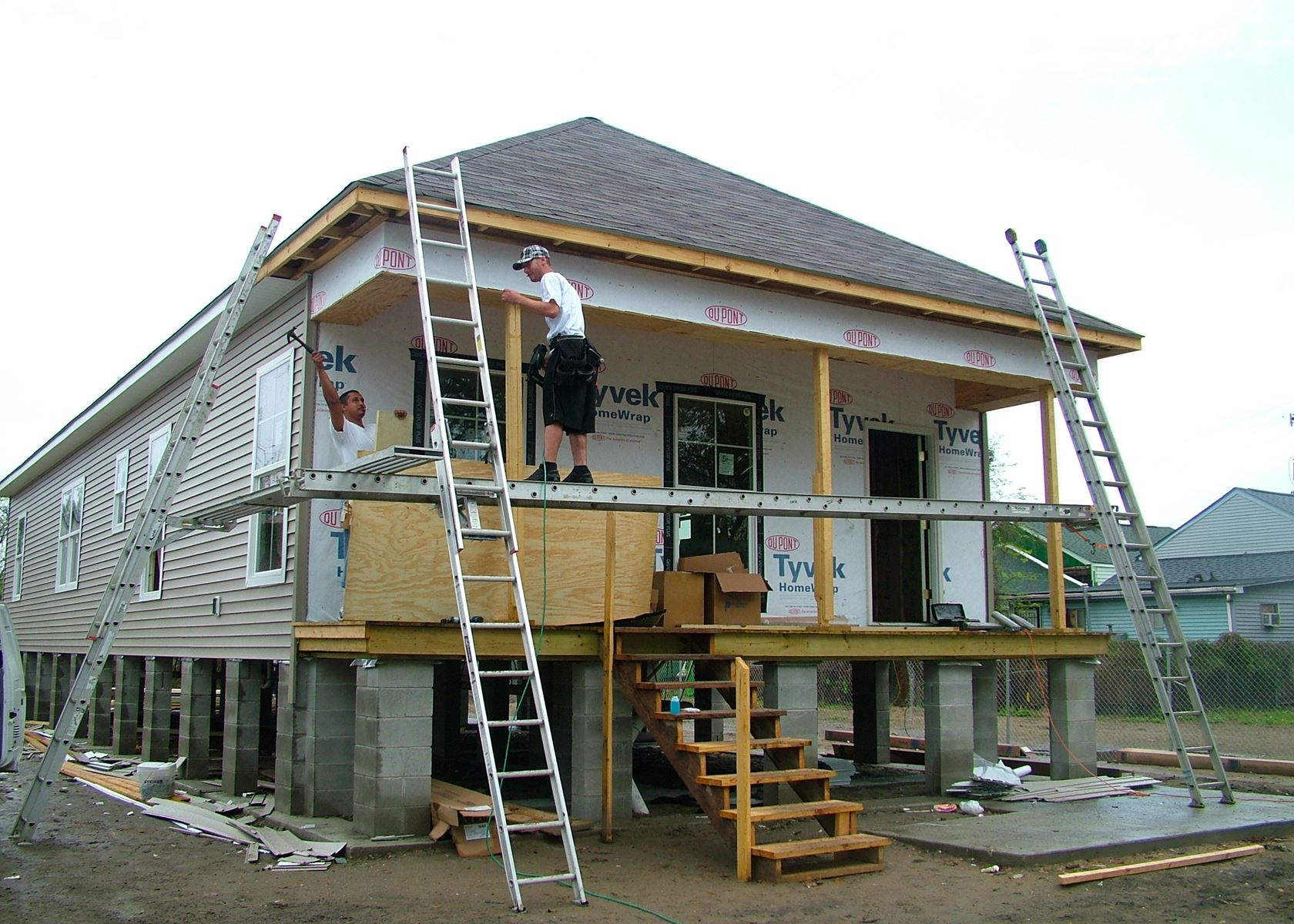 Exterior Home Improvement Contractors In New Orleans