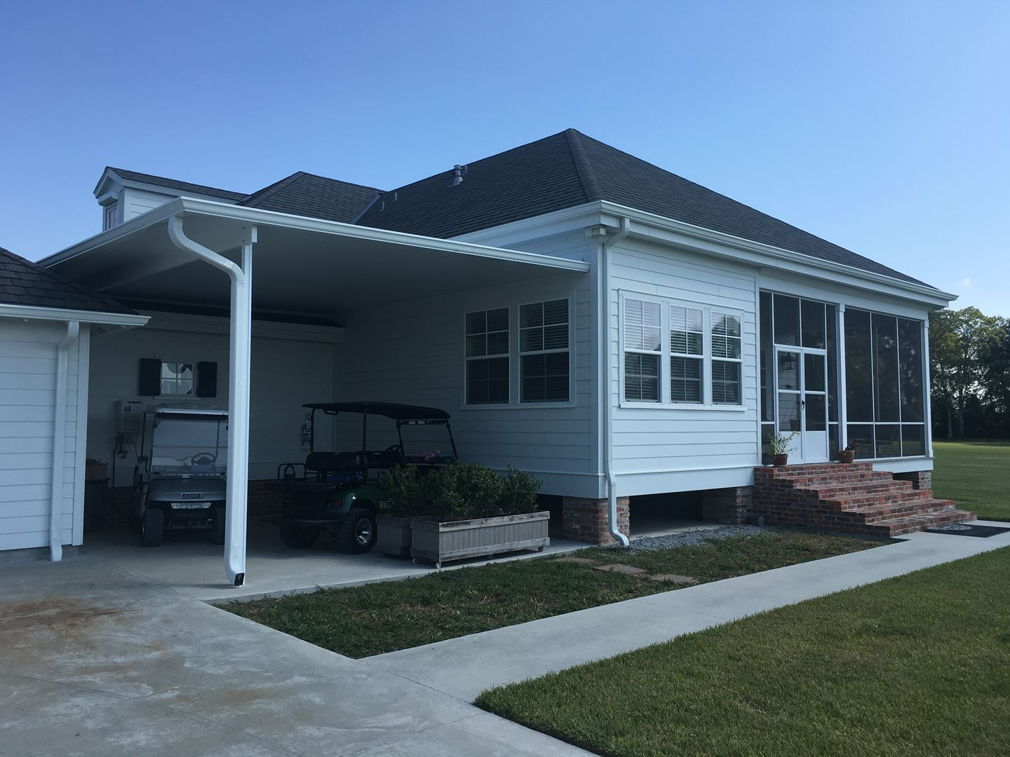 Exterior Home Improvement Contractors In New Orleans Louisiana Siding Patios Gutters Windows