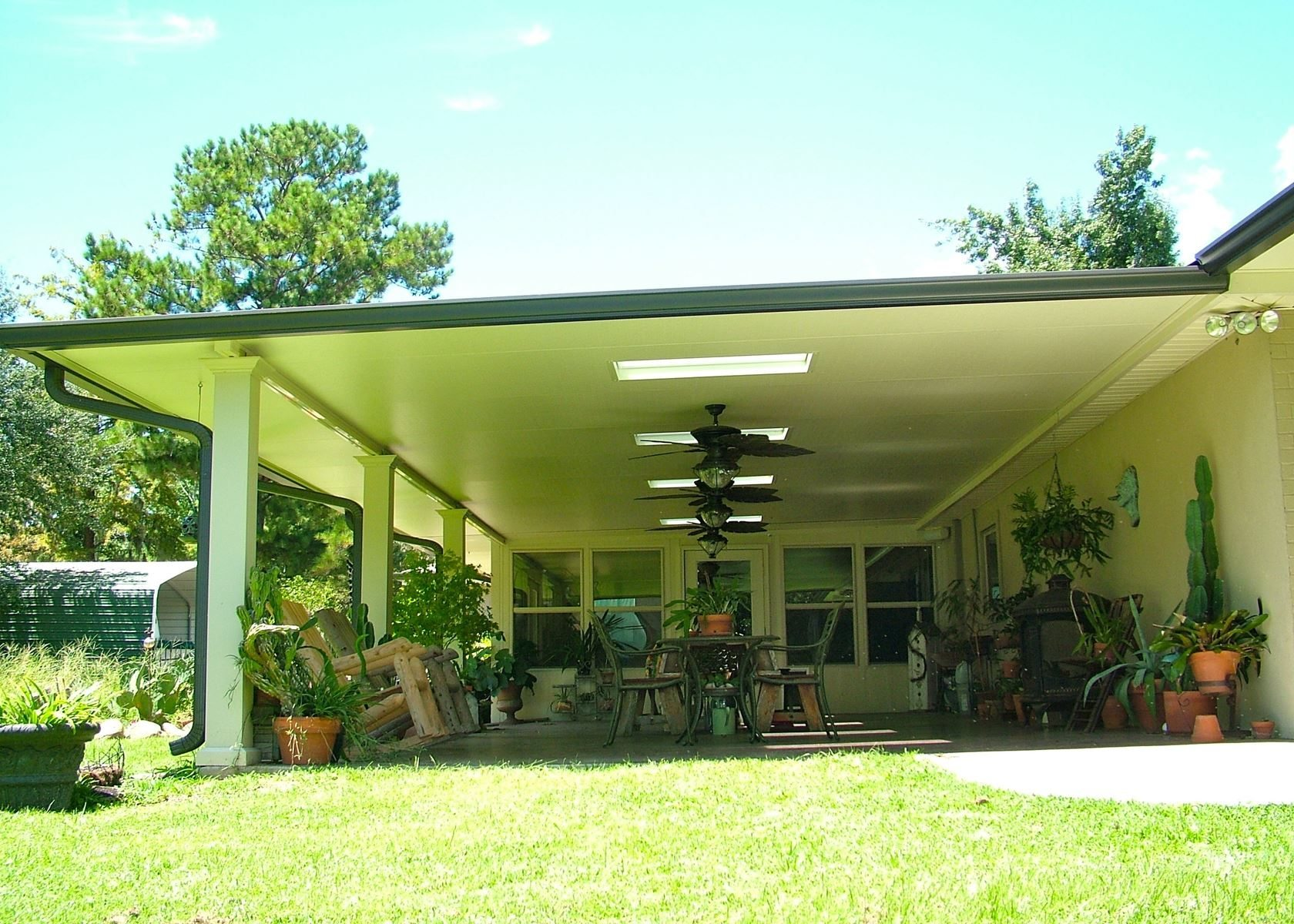 Aluminum Patio Cover Contractors In New Orleans Louisiana