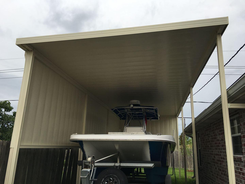 Aluminum Patio Cover Contractors in New Orleans Louisiana | Carport