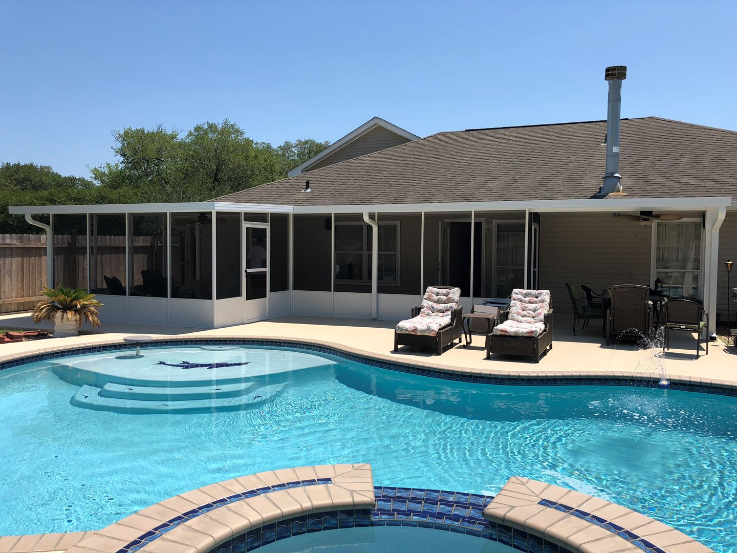 New Orleans Patio Covers Patios Patio Cover Install